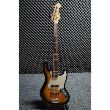 gitara basowa - jazz bass - wygodny, solidny