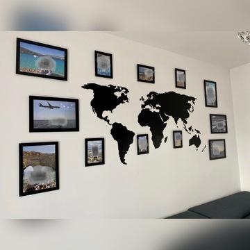 Mapa Świata - dekoracja ścienna DUŻA