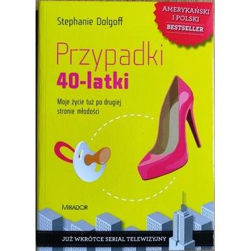 PRZYPADKI 40-LATKI Stephanie Dolgoff NOWA KSIĄŻKA!