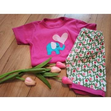 Zestaw piżam i koszula nocna H&M 128