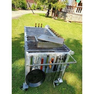 Grill przemysłowy elektryczny z płynną regulacją