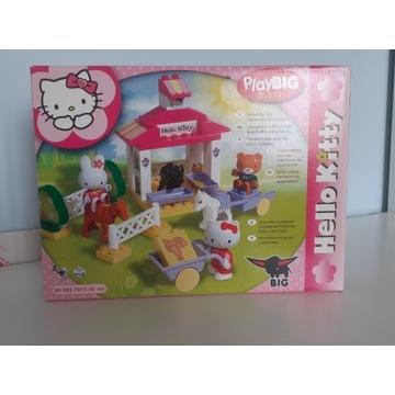 Klocki Hello Kitty - stadnina