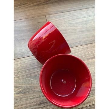 Donice ceramiczne 2 sztuki