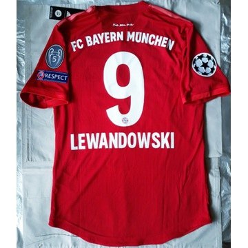 Koszulka Lewandowski Bayern meczowa LM 2019/2020