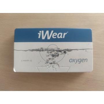 Szkła kontaktowe iWear Oxygen -1 miesiąc [-5.00]