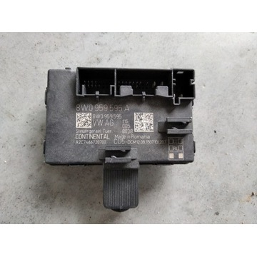 AUDI A4 B9 A5 MODUŁ STEROWNIK DRZWI 8W0959595A