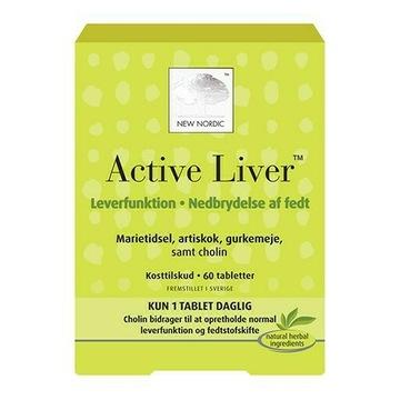 Active Liver 60 tab kurkuma wątroba Szwecja