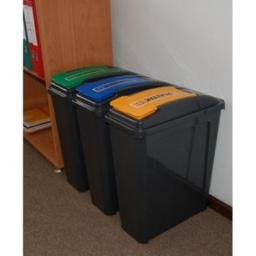 ZESTAW do segregacji śmieci 3x25 L#lokalnyryneczek