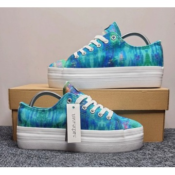 Buty Sneakersy SixtySeven - Ocean View Print R.40