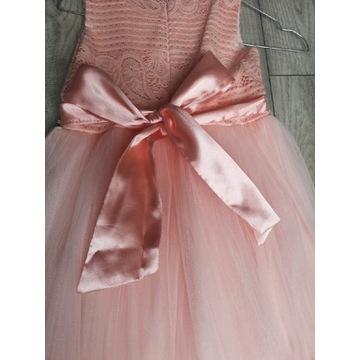 Suknia na komunię bądź wesele dla dziewczynki