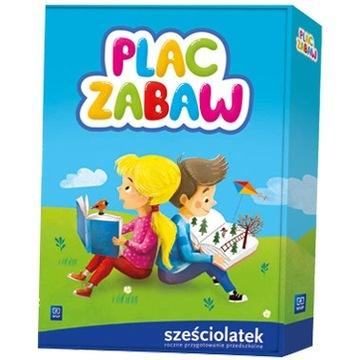 Plac zabaw sześciolatek WSiP Nowy 4 sztuki