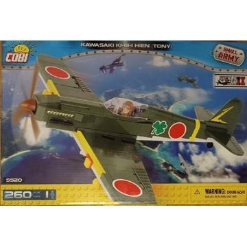 COBI 5520 SAMOLOT Kawasaki Ki-61-I Hien Tony NOWY