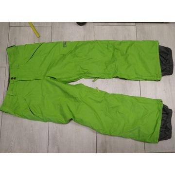 spodnie burton  M zielone snowboard narty