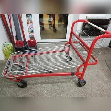 Wózki platformowe, sklepowe, magazynowe