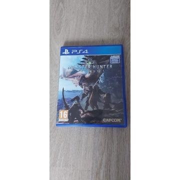 MONSTER HUNTER: WORLD PS4 PL