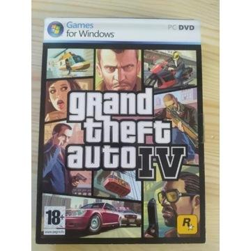 GTA IV 4 PC pełen komplet