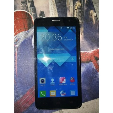 Alcatel one touch idol mini 6012D DUAL SIM PL MENU