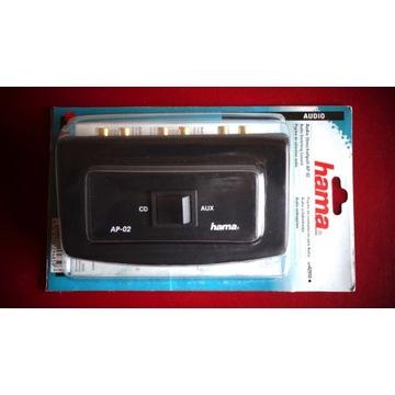 Przełącznik audio Hama AP-02 , selektor dźwięku