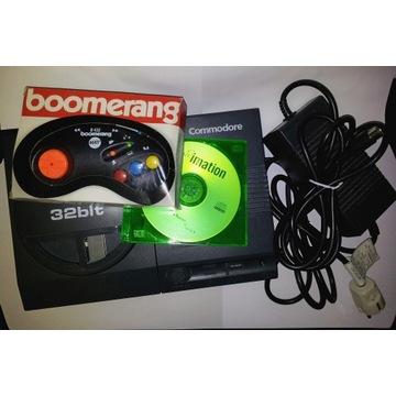 Commodore Amiga CD32 +zasilacz +pad boomerang