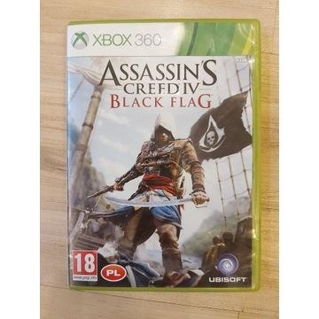 ASSASSIN'S CREED IV BLACK FLAG XBOX 360 NAPISY PL