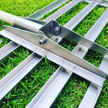Lawn leveling rake, niwelator do trawnika
