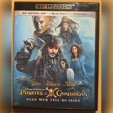Piraci z Karaibów: Zemsta Salazara 4K UHD