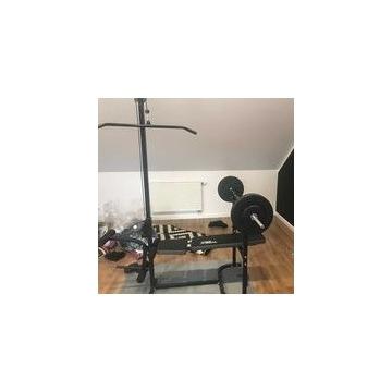 Używana domowa siłownia zestaw