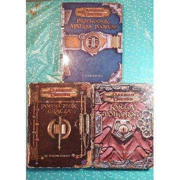 Podręczniki Dungeons & Dragons 3ed