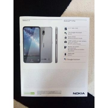Nowa Nokia 2.2 Android 9 Pie, czarny