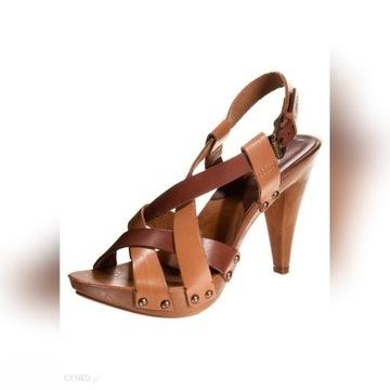 Levis skórzane oryginalne sandały 38