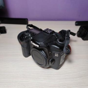 Canon 40D stan igła + akcesoria