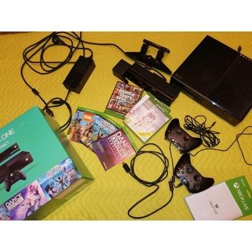 Xbox One  Konsola+Kinect+2 kontrolery