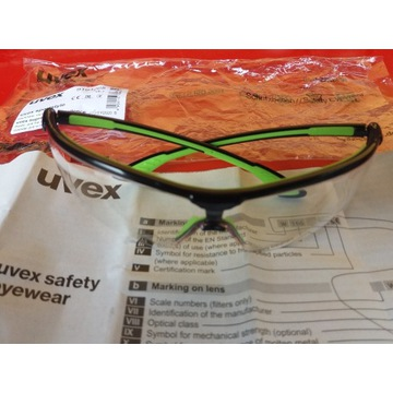 Okulary uvex sport style.