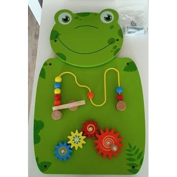 Tablica manipulacyjna żaba Playtive
