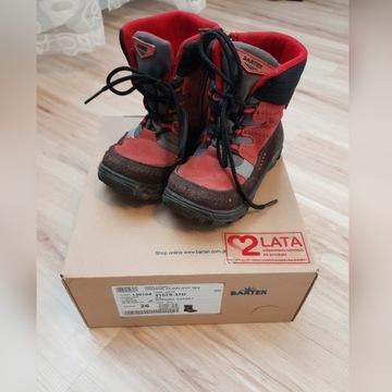 Bartek rozm. 26 wodoodporne buty zimowe Gwarancja