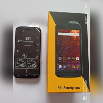 CAT S61 LTE 4/64GB NFC IP68 FLIR Nowy z PLAY