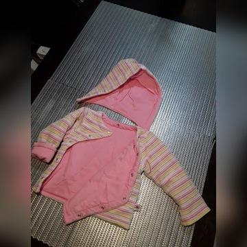 Ciepła bluza kurtka Tup Tup r.68 stan bdb