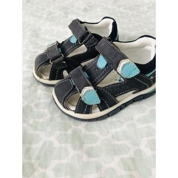 Sandałki skórzane lasocki r 20