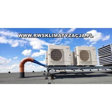 Klimatyzacja, pompy ciepła - serwis, montaż
