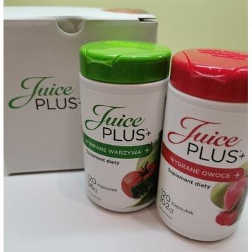Juice Plus+ kapsułki wybrane warzywa i owoce