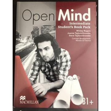 Podręcznik open mind B1+ sb