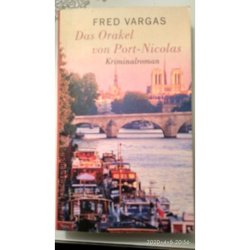 "F. Vargas ""Das Orakel von Port-Nicolas"""
