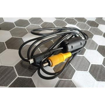 Sony Alfa a-100 oryginalny kabel USB-AV (video)