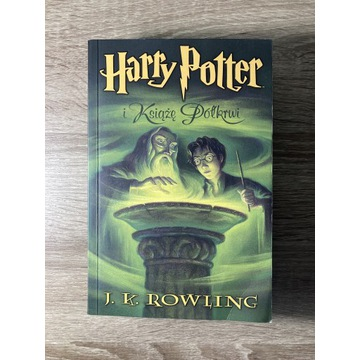 Harry Potter i Książę Półkrwi, stare wydanie