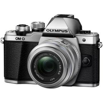 Olympus OM-D E-M10 Mark II Srebrny + EZ-M1442 IIR
