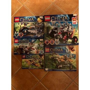 Lego Chima 70007, 70004, 70005, 70001, 70129