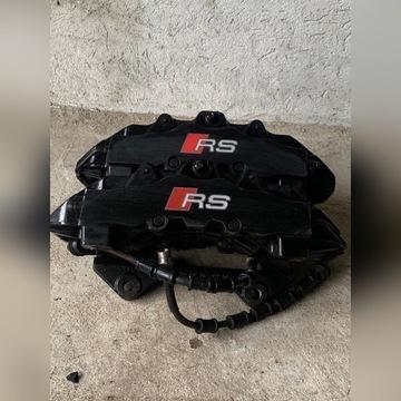 Zaciski Audi RS4 B8 klocki tarcze przewody