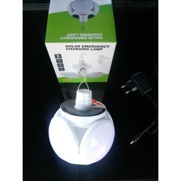 Lampa Solarna LED wisząca do namiotu altany wiaty