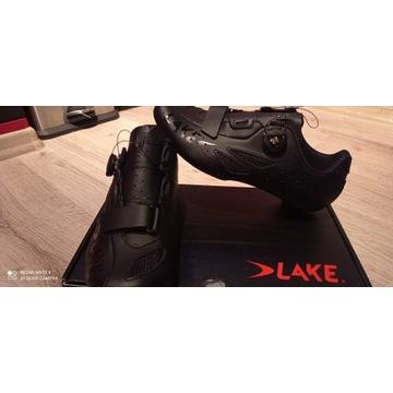 Buty rowerowe LAKE CX176 r.42 czarne szosa