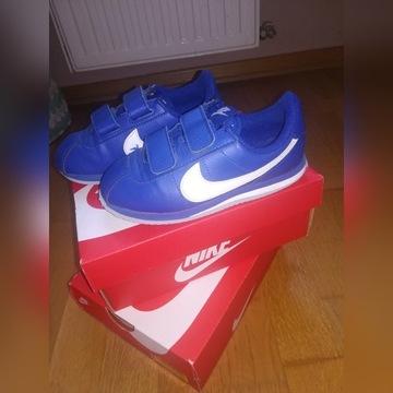 Nike cortez 28,5 18 cm wiosna rzepy sportowe